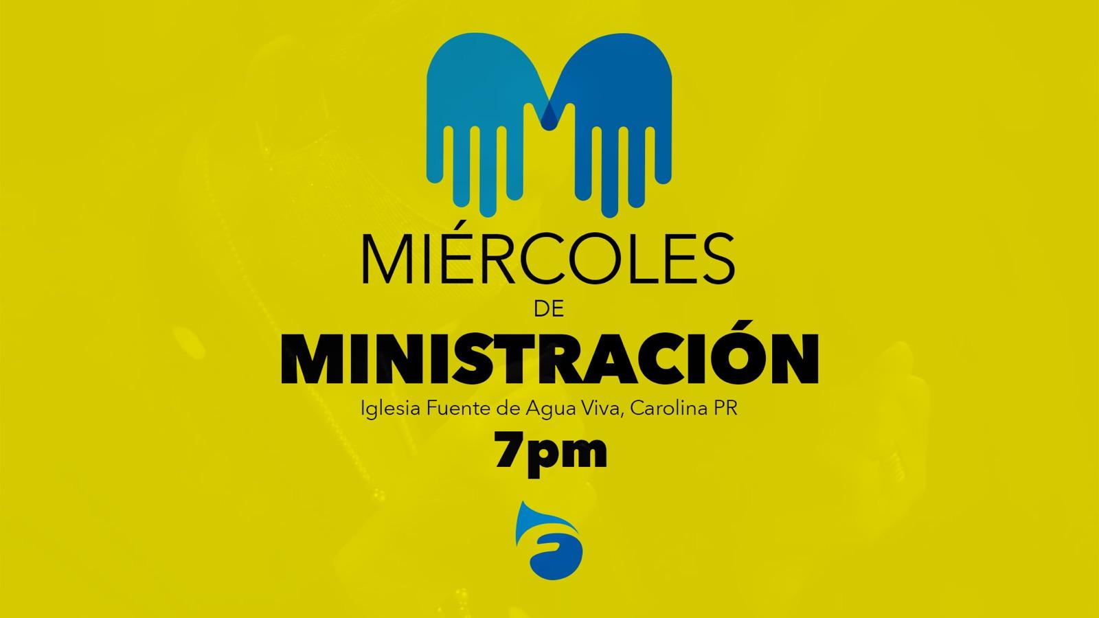 Miércoles de Ministración Servicios Iglesia Carolina Puerto Rico Pastor Otoniel